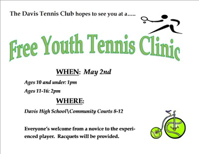 Free Youth Clinic - May 2, 2015